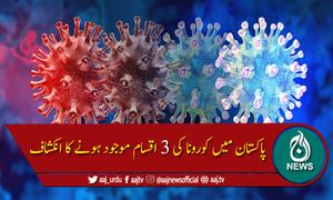 پاکستان میں کورونا کی کونسی اقسام موجود ہیں؟
