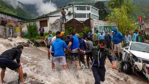 Seven feared dead, 9 missing in flash floods in Himachal Pradesh