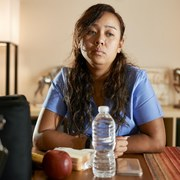 'Living with COVID' looks very different for front-line health workers, who are already exhausted