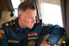 روس کے وزیر برائے ہنگامی حالات کیمرا مین کو بچاتے ہوئے ہلاک