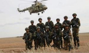 آئی ایس پی آر :جوائنٹ اینٹی ٹیررسٹ مشقیں پبی میں شروع