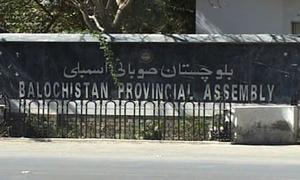 تحریک عدم اعتماد، بلوچستان اسمبلی کا اجلاس بیس اکتوبر کو طلب