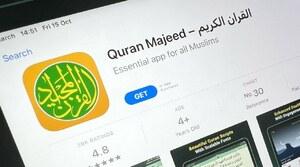 """چین میں ایپل اسٹور کی سب سے مقبول """"قرآن ایپ"""" بند کر دی گئی"""
