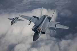 روسی جنگی طیارے نے سرحد کے نزدیک آنے والے امریکی بمبار طیارے کو بھگا دیا