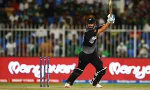 نیوزی لینڈ کا پاکستان کو جیت کےلئے 135 رنز کا ہدف