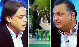 نعمان نیاز سے تلخ کلامی، شعیب اختر لائیو شو میں PTV سے مستعفی