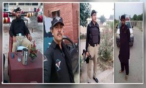 لکی مروت میں پولیس موبائل پر فائرنگ، اے ایس آئی سمیت 4 اہلکار شہید